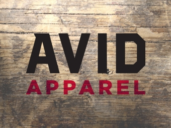 Avid Apparel – Rebrand 2015